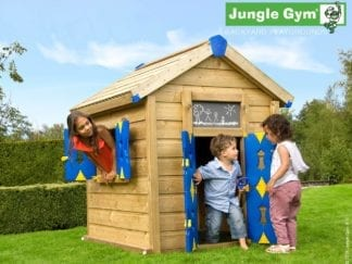 Jungle Gym playhouse in garden