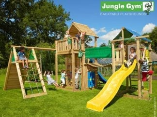 Jungle Gym paradise 2 with slides in garden