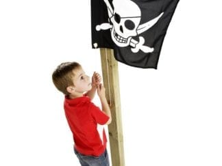 Cheeky Monkey pirate flag