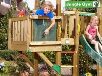Jungle Gym balcony module in the garden